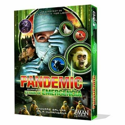Z-Man Games - Pandemic Estado de emergencia