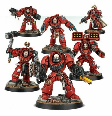 Games Workshop - Warhammer 40,000: Space Marines Heroes Serie 2
