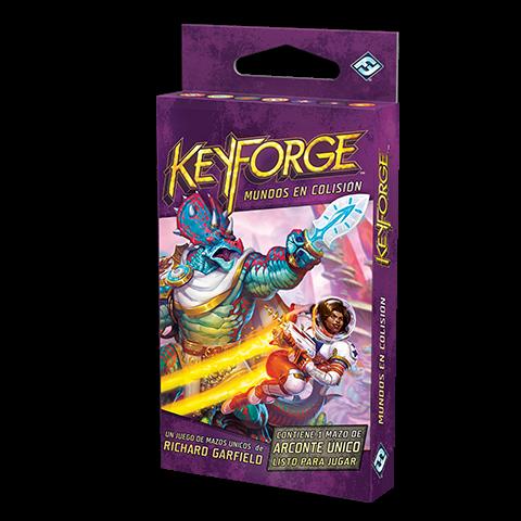 Fantasy Flight - KeyForge: Mundos en Colisión Mazo de Arconte