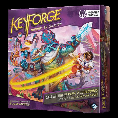 Fantasy Flight - KeyForge: Mundos en Colisión Caja de Inicio