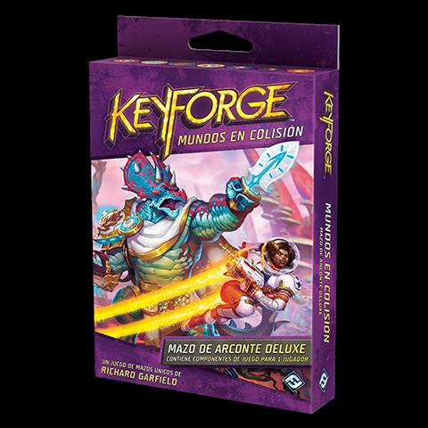 Fantasy Flight - KeyForge: Mundos en Colisión Mazo de Arconte Deluxe