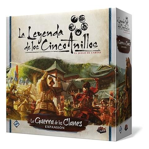 Fantasy Flight - La leyenda de los 5 anillos: La Guerra de los Clanes