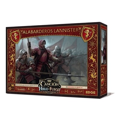 CMON - Canción de Hielo y Fuego: Alabarderos Lannister