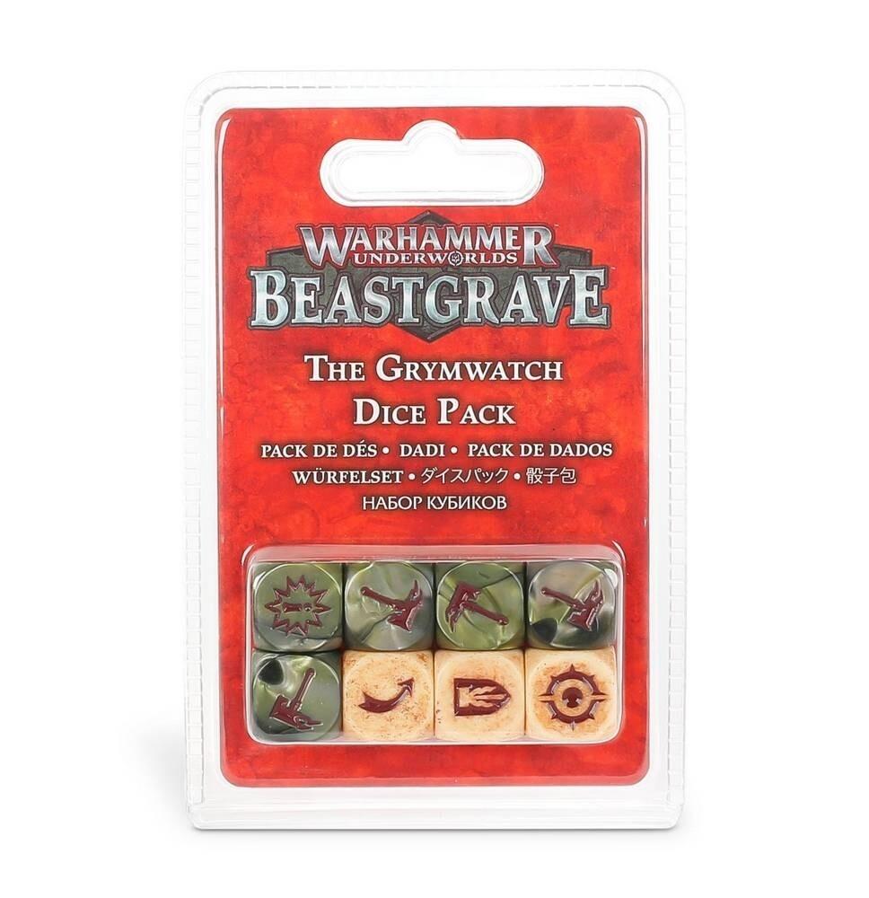 Games Workshop - Warhammer Underworlds: Beastgrave - Pack de dados de la Guardia Torva
