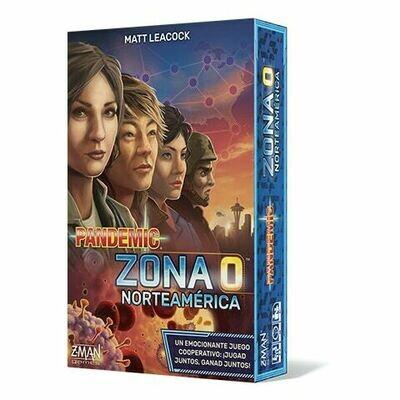 Z-Man Games - Pandemic Zona 0 Norteamérica