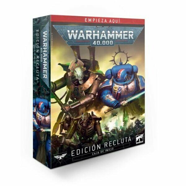 Games Workshop - Warhammer 40,000: Edición Recluta