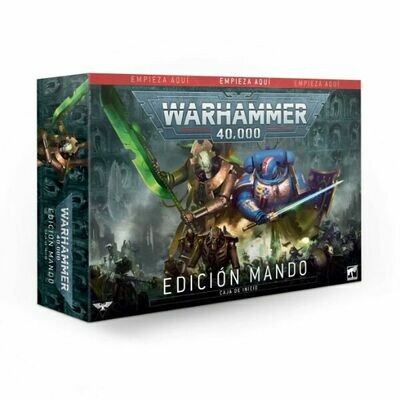 Games Workshop - Warhammer 40,000: Edición Comando