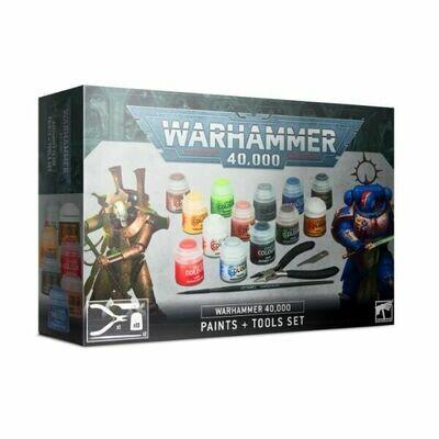 Games Workshop - Juego de pinturas y herramientas Warhammer 40,000