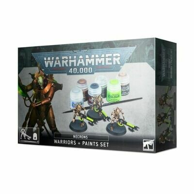 Games Workshop - Necrones: Set de guerreros + pinturas