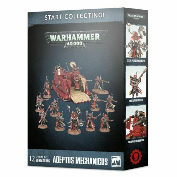 Games Workshop - Warhammer 40,000: Start Collecting! Adeptus Mechanicus