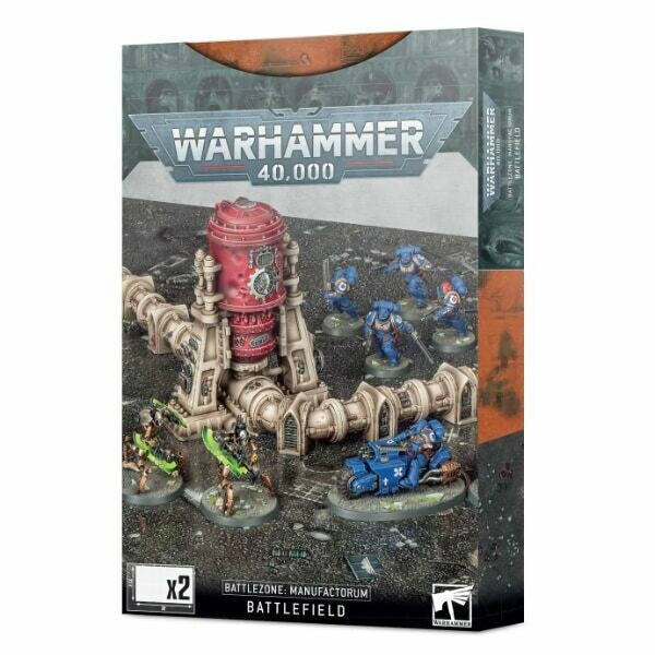 Games Workshop - Warhammer 40,000: Zona de batalla: Manufactorum
