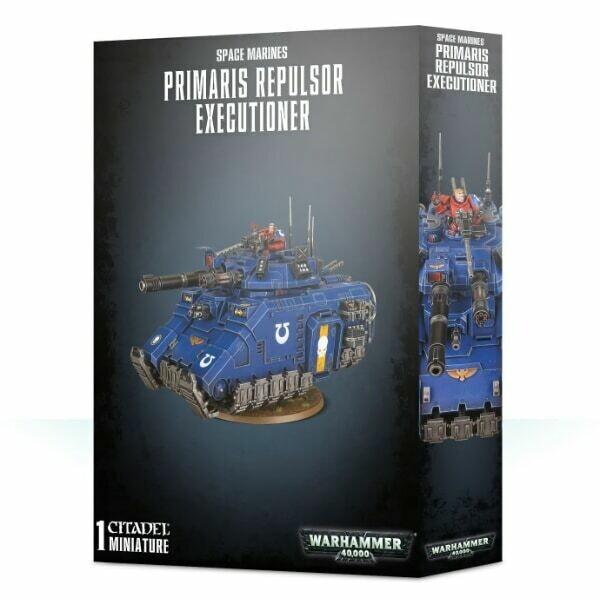 Games Workshop - Warhammer 40,000: Primaris Repulsor Executioner
