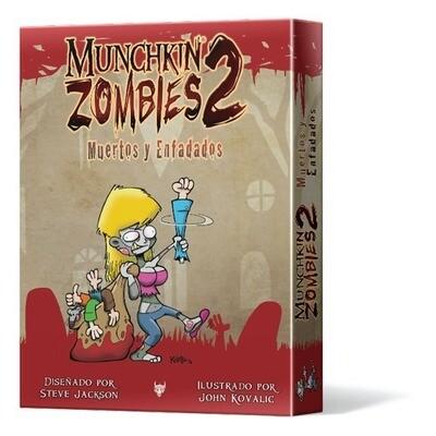 Steve Jackson Games -   Munchkin Zombis 2: Muertos y Enfadados