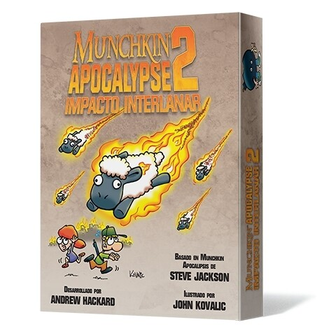 Steve Jackson Games - Munchkin Apocalypse 2: Impacto Interlanar
