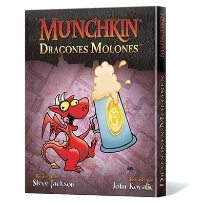 Steve Jackson Games - Munchkin Dragones Molones