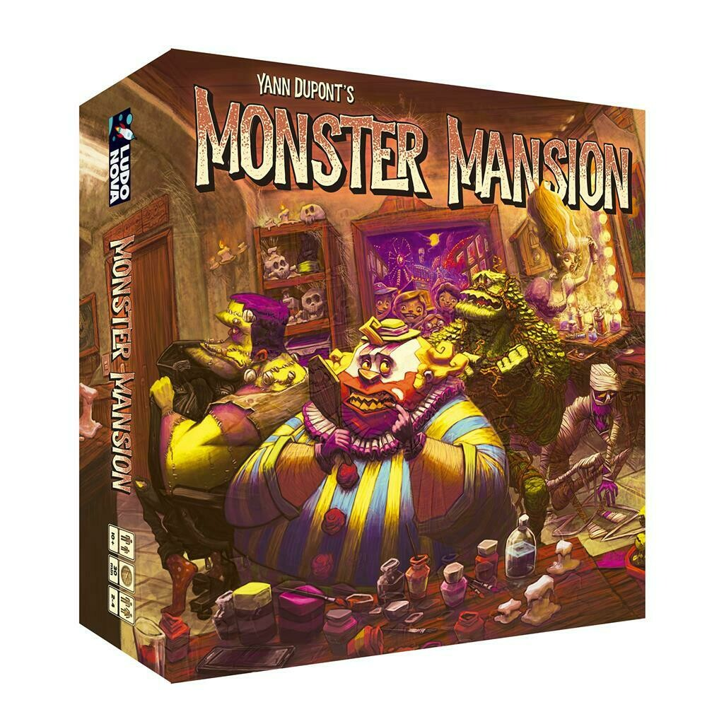 Ludonova - Monster Mansion