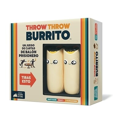 Exploding Kittens - Throw Throw Burrito