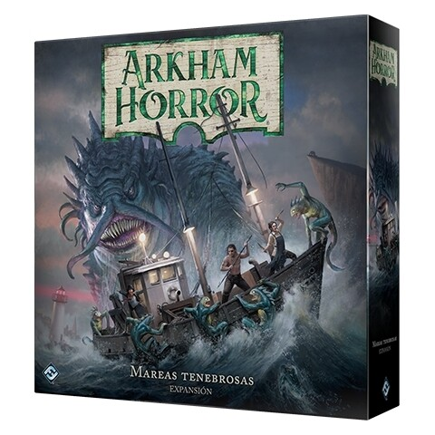 Fantasy Flight - Arkham Horror 3ª Edición: Mareas tenebrosas