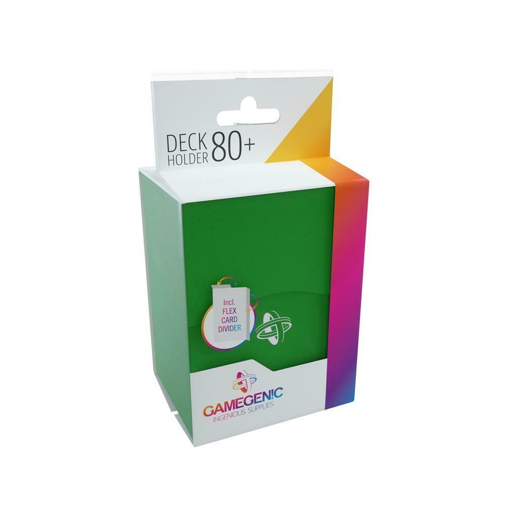 Gamegenic - Deck Holder 80+ Green