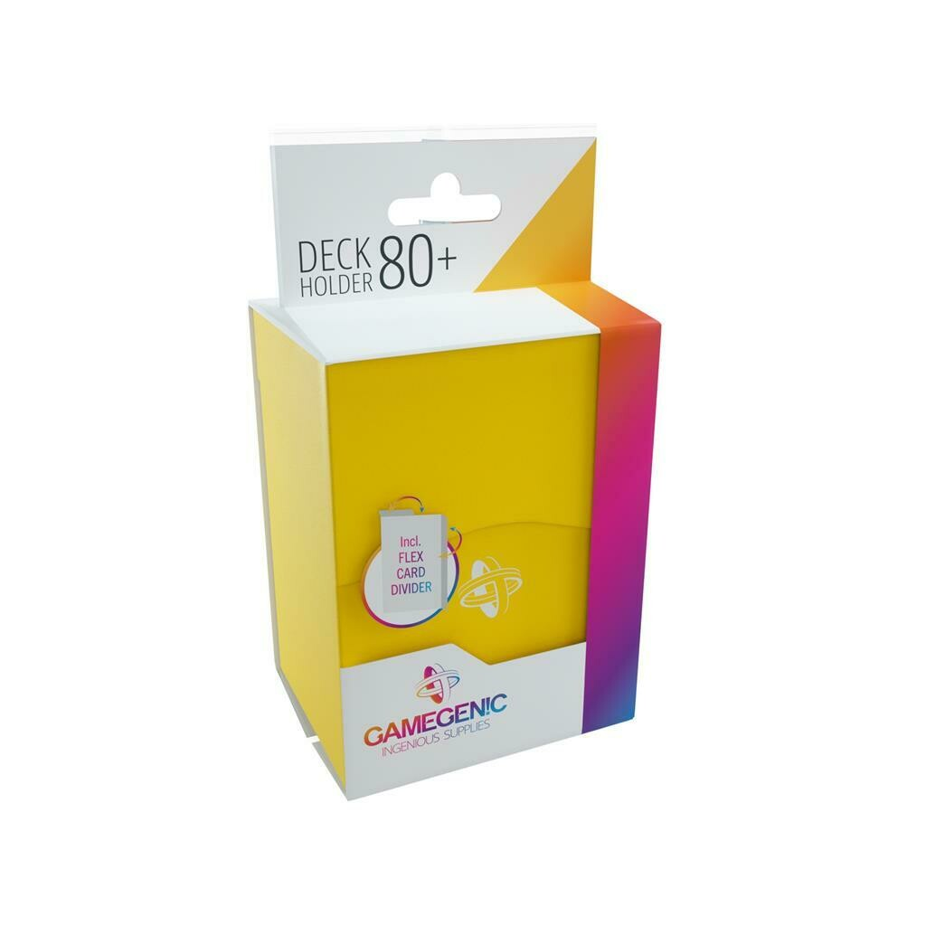 Gamegenic - Deck Holder 80+ Yellow