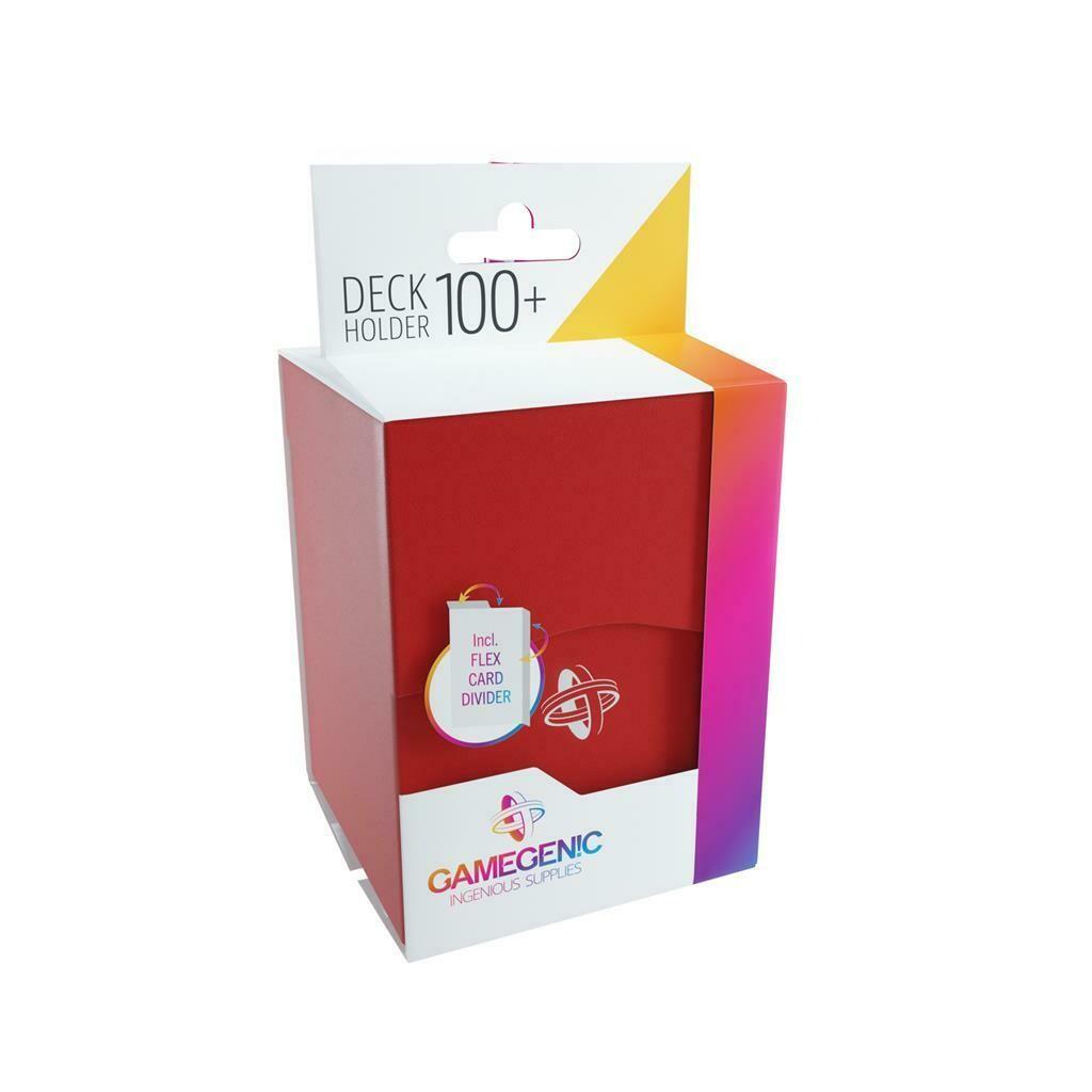 Gamegenic - Deck Holder 100+ Red