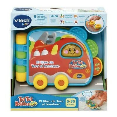 vTech - Libros de Tero el bombero y Troche el coche