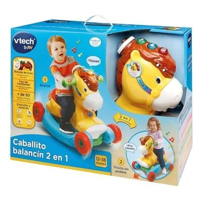 vTech - Caballito balancín 2 en 1