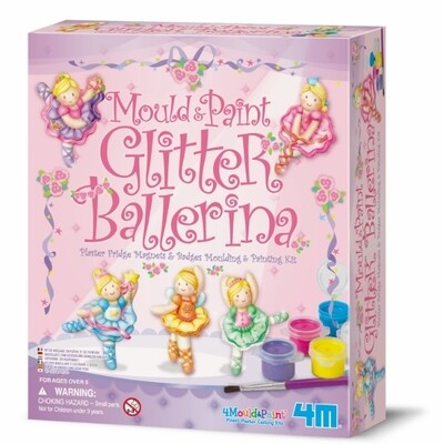 4M - Mould & Paint / Glitter Ballerina