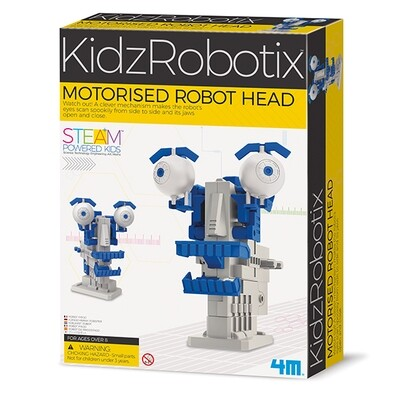 4M - KidzRobotix - Motorised Robot Head