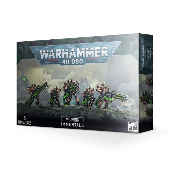 Games Workshop - Warhammer 40,000: Necron Immortals