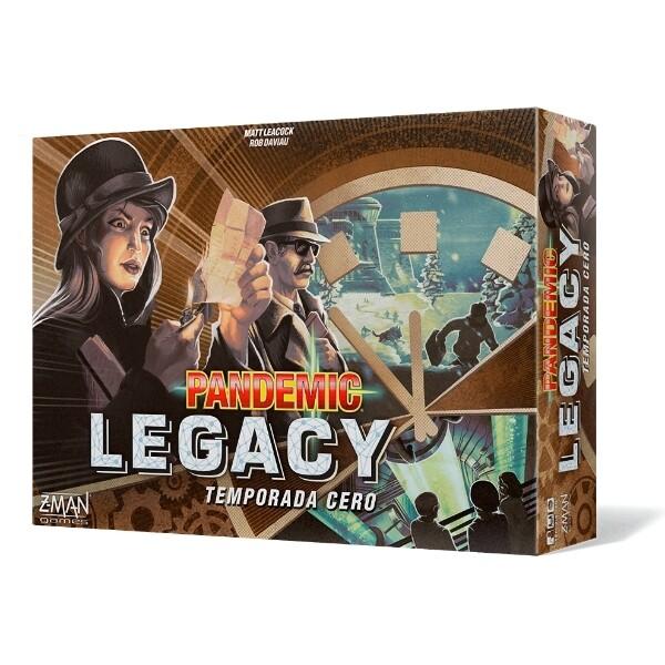 Z-Man Games - Pandemic Legacy Temporada 0
