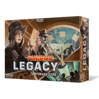 Z-Man Games - Pandemic Legacy Temporada 0