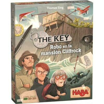 Haba - The Key – Robo en la mansión Cliffrock