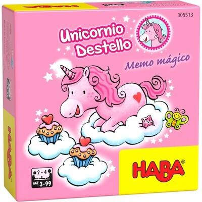 Haba - Unicornio Destello – Memo mágico