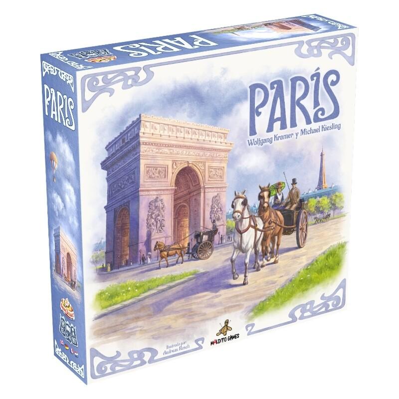 Maldito Games - París