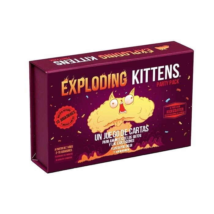 Exploding Kittens - Exploding Kittens Party Pack