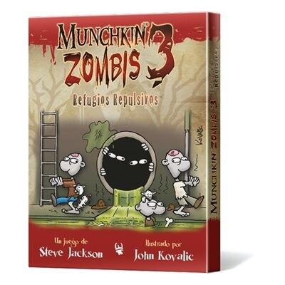 Steve Jackson Games - Munchkin Zombis 3: Refugios Repulsivos
