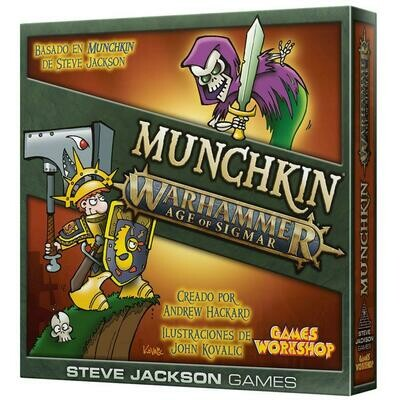 Steve Jackson Games - Munchkin Age of Sigmar