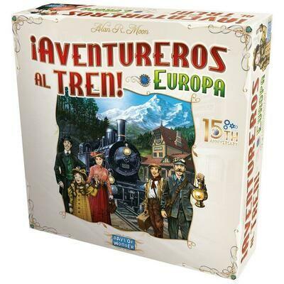 Days of Wonder - ¡Aventureros al Tren! Europa 15 Aniversario