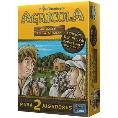 Lookout Games - Agricola: Animales en la granja