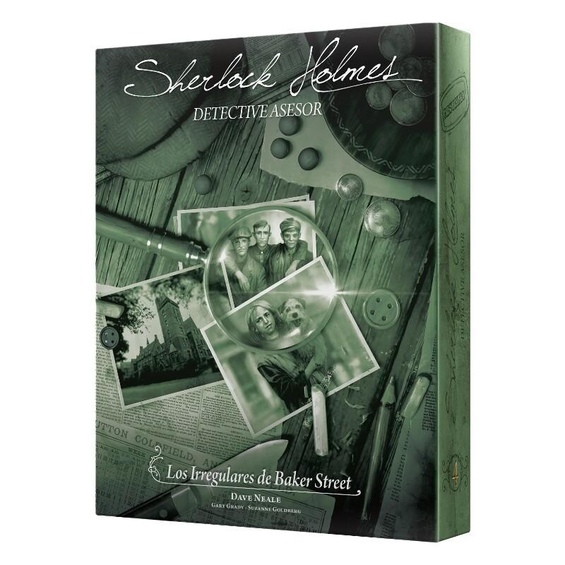 Space Cowboys - Space Cowboys - Sherlock Holmes detective Asesor: Los irreguares de Baker Street