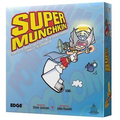 Steve Jackson Games - Super Munchkin Nueva Edición