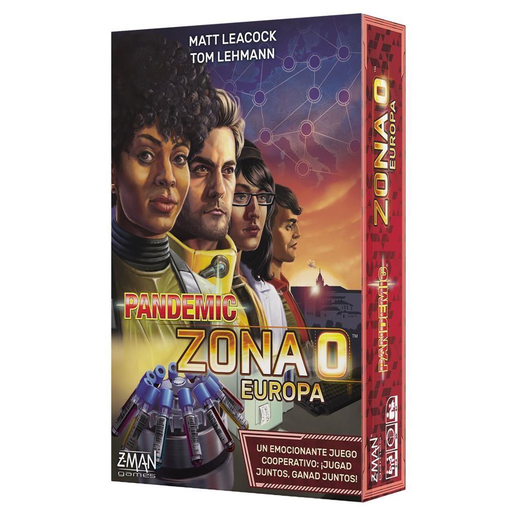 Z-Man Games - Pandemic Zona 0 Europa