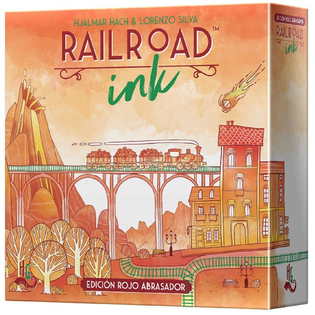 Horrible Games - Railroad Ink: Edición rojo abrasador