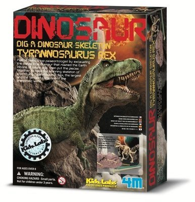 4M - Kidz Labs - Dig a Tyrannosaurus Rex Skeleton