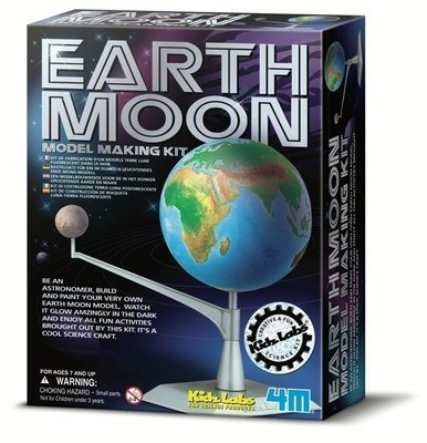 4M - Kidz Labs - Earth-Moon Model Making Kit