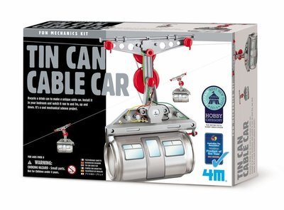 4M - Fun Mechanics - Tin Can Cable Car