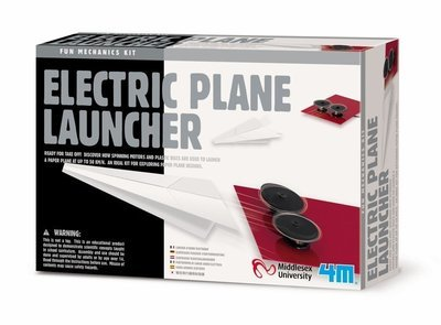 4M - Fun Mechanic - Electric Plane Launcher