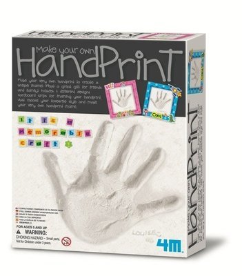 4M - Make Your Own Hand Print