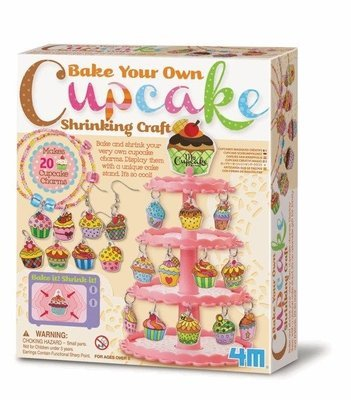 4M - Bake Your Own Cupcake Shrinking Craft